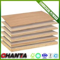 18mm commercial plywood tiger plywood with CE certificate