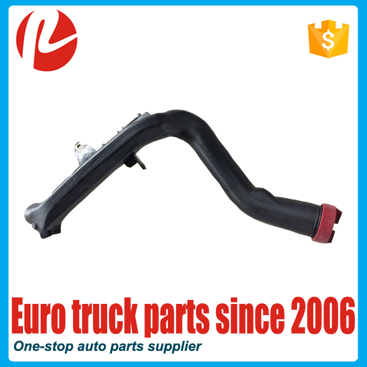 European Truck Auto Parts Lubrication System OEM 9425280909 Radiator Flexible Coolant Water Hose For MB Oil Filler Pipe
