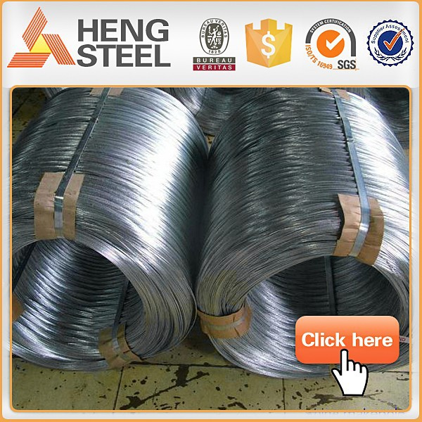 Wire ropes-high carbon galvanized steel wire
