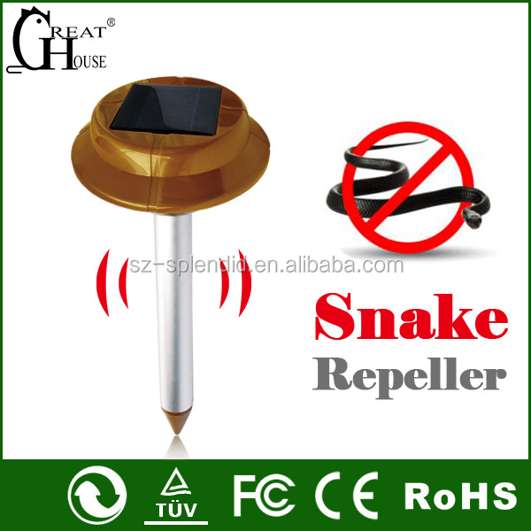 Patented Solar battery powered Snake Catcher GH-318