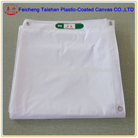 PVC laminated fabric building fabric building protection cover
