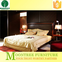 Moontree MBD-1102 chinese king size leather bed frame