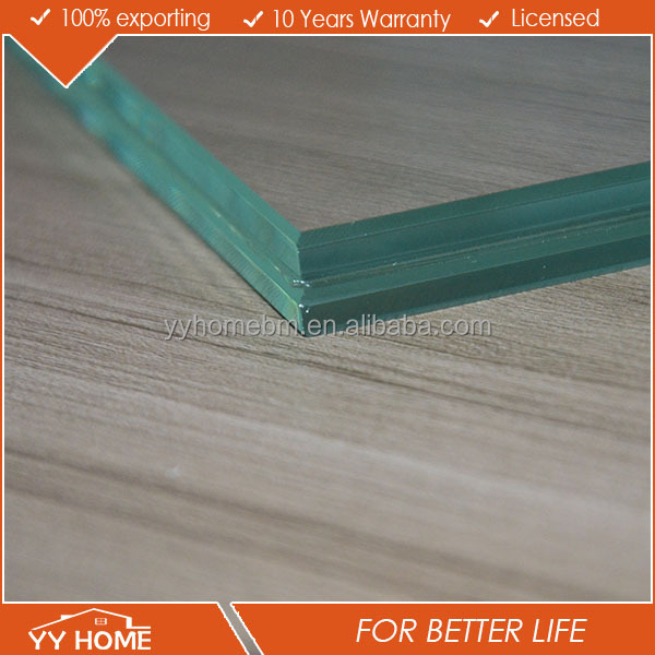 YY Home Clear / Tinted Laminated Building Glass