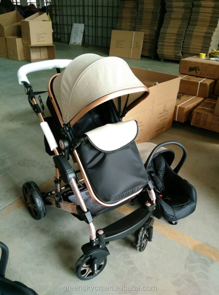 2016 most popular Baby Stroller with car seat with EN1888
