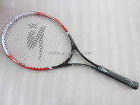 High quality custom printing 27inch adult racket of tennis head aluminum tennis racket