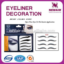 Joyme 2016 new product hot selling eye tattoo sticker eyeliner tattoo sticker