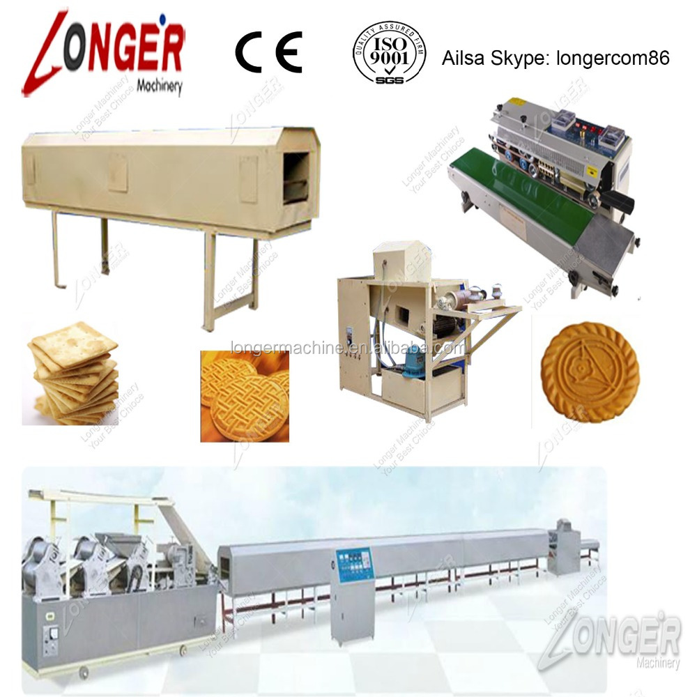 Biscuit production line/small biscuit making machine