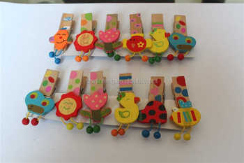 wooden peg art crafts wooden clip mini wooden craft clips