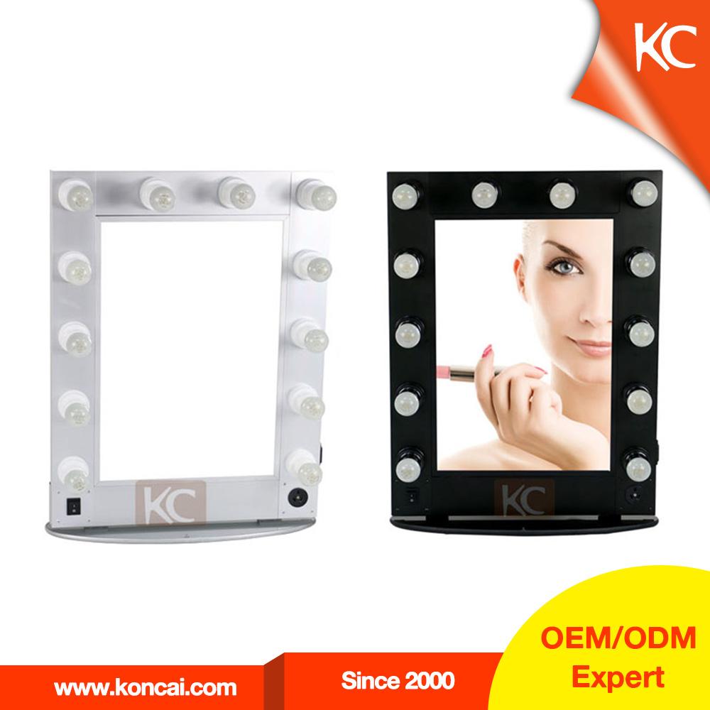 make up spiegel artist s spiegel beleuchtete make up spiegel mit st nder kosmetikspiegel mit. Black Bedroom Furniture Sets. Home Design Ideas