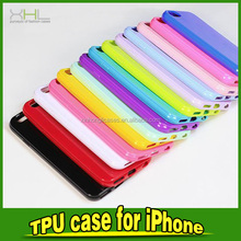 High Quality Candy Color Soft TPU Mobile Phone Case for iPhone 6