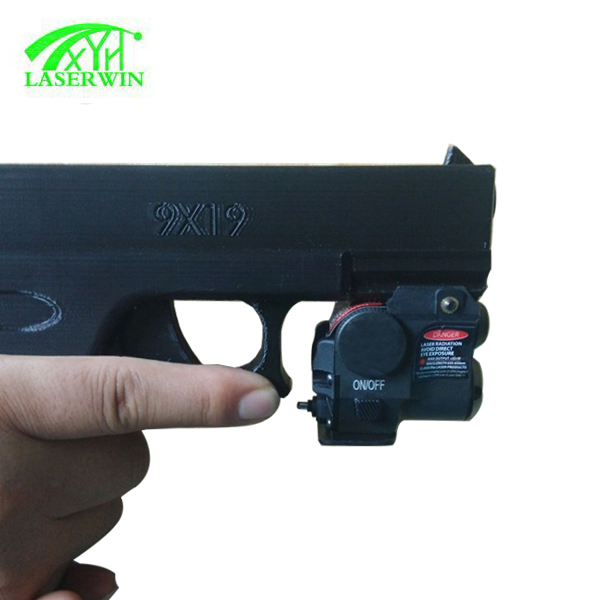 Tactical Pistol Picatinny Rail Small Green Laser Sight for 1911
