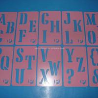 Factory Directly PVC Material Plastic Stencils