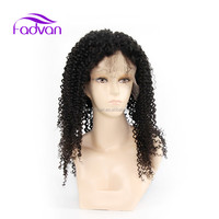 New Arrivals Top Grade Unprocessed Raw Brazilian/Malaysian/Peruvian/Indian Virgin Kinky Curly Full 360 Lace Wigs