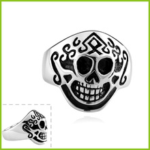 2014 Perfect Design And Special Style Male Skull Ring New Arrival