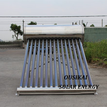 2018 Non-Pressurized Stainless Steel Solar Water Heater Price(150L)