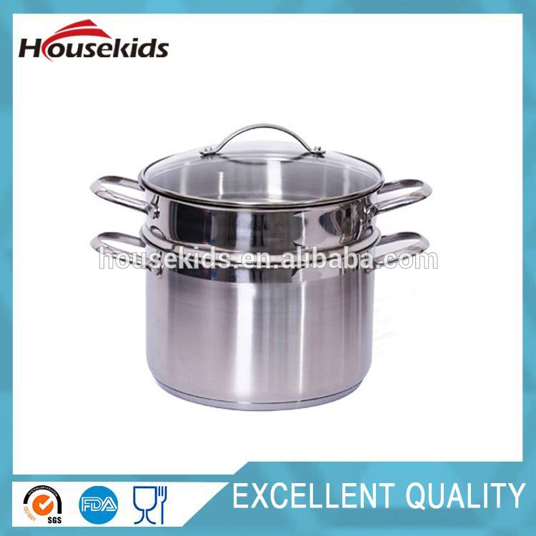 Multifunctional 18 10 stainless steel cookware with high quality HS-CJS002