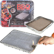 Easy to Take Park Instant Disposable Grill BBQ