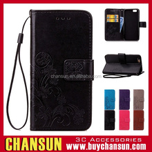have in stock Tpu inside card holder wallet leather case for iphone 5/6/6plus