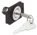 Cabinet Plane Lock push button locks SN-KS-1