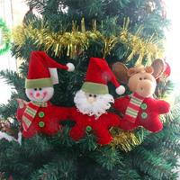 Christmas Tree Decoration Ornaments Hanging Santa Claus Snowman Elk Christmas Decoration