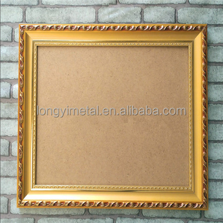 Wholesale Wooden Cube Mini Bright Old Gold Picture Photo Frame