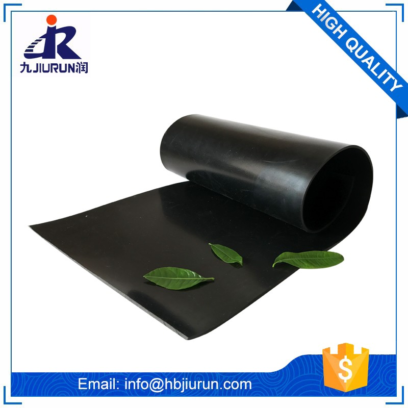 Anti Aging Ozone Resistant Good Flexible Solid Epdm Rubber Sheet