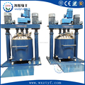 Silicon Rubber Multi-function dual shaft Mixer, hydraulic pressing machine