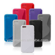s line TPU Rubber protection cover soft case for APPLE IPHONE 5C LITE