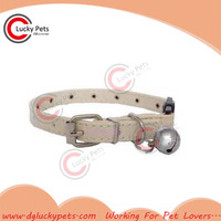 Premium high quality leather cat collar and leash for wholesale