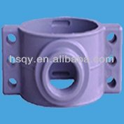 Grey UPVC Pipe Sleeve Rubber Saddle Clamp