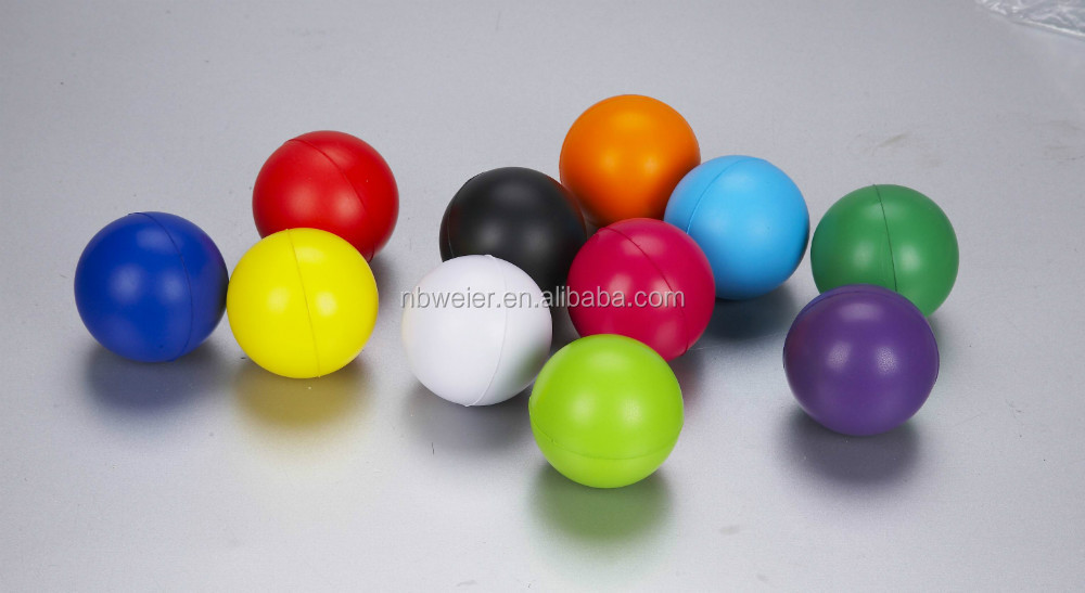 2014 hot selling 6.3cm cheap PU toy/promotionl PU stress <strong>ball</strong>/custom shaped printed anti stress <strong>ball</strong>/