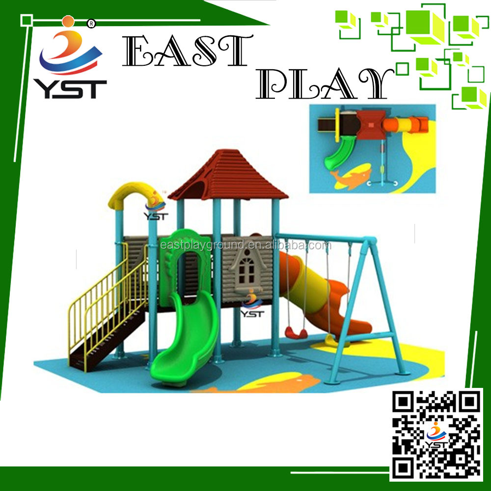 Outdoor Toys Colorful Plastic Slides for kids