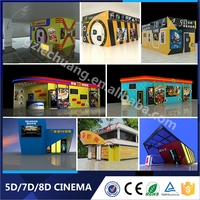 Fashion Modern 9D/12D Movies Electric System 5D Cinema Including The Outside Cabin/Box