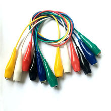 test lead set 6 pairs large alligator clips