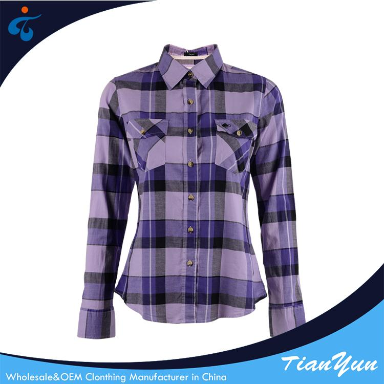 New fashionable custom made new woven trendy blouses