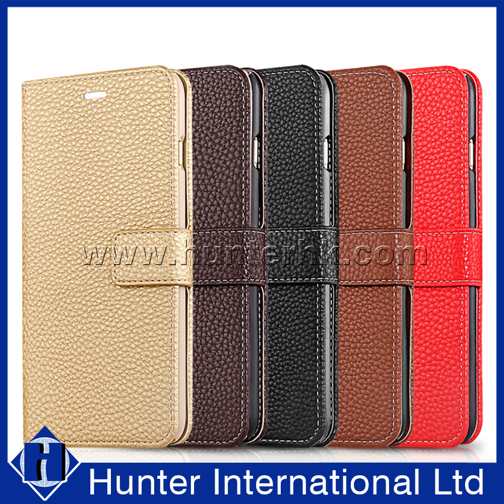 Thin Plain Book Wallet Case For SONY XPERIA XA