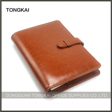 Handmade Loose Leaf Leather Journal Diary Notebook with Pen