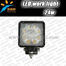Factory Direct Product 12v 24 Watt LED Light Work For Cars LED Work Lamp