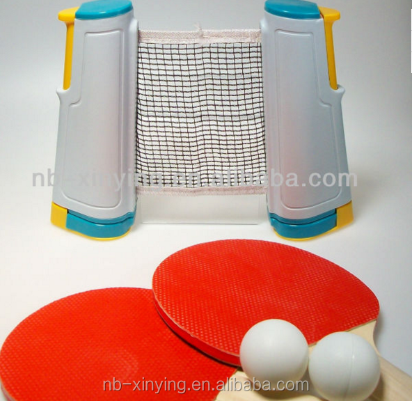 Hot sale Tabletop Tennis Set Portable Travel Ping Pong Set