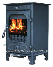 wood burning stove with boiler(JA039)