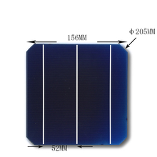 large stock! manufacturer direct sale 156x156mm high quality mono 4bb solar cell 6inch for sale