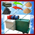 Bamboo sawdust hard wood briquette log making machine