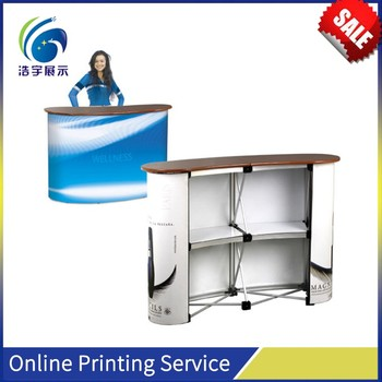 Mobile Display Counter Christmas Straight Promotion Counter