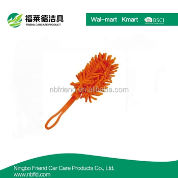 Smart plastic handle flexible car cleaning duster
