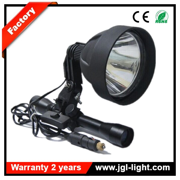 Guangzhou Jianguang 12v 150mm CREE 15W LED Scope Mounted Hunting Rifle Spotlight gun shooting spotlight