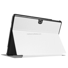 Foldable leather pu case for samsung galaxy tab pro s tablet hard pc cover