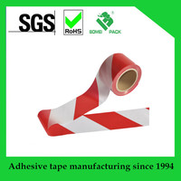 Red White Safety Warning Plastic PE Barrier Tape for Sale