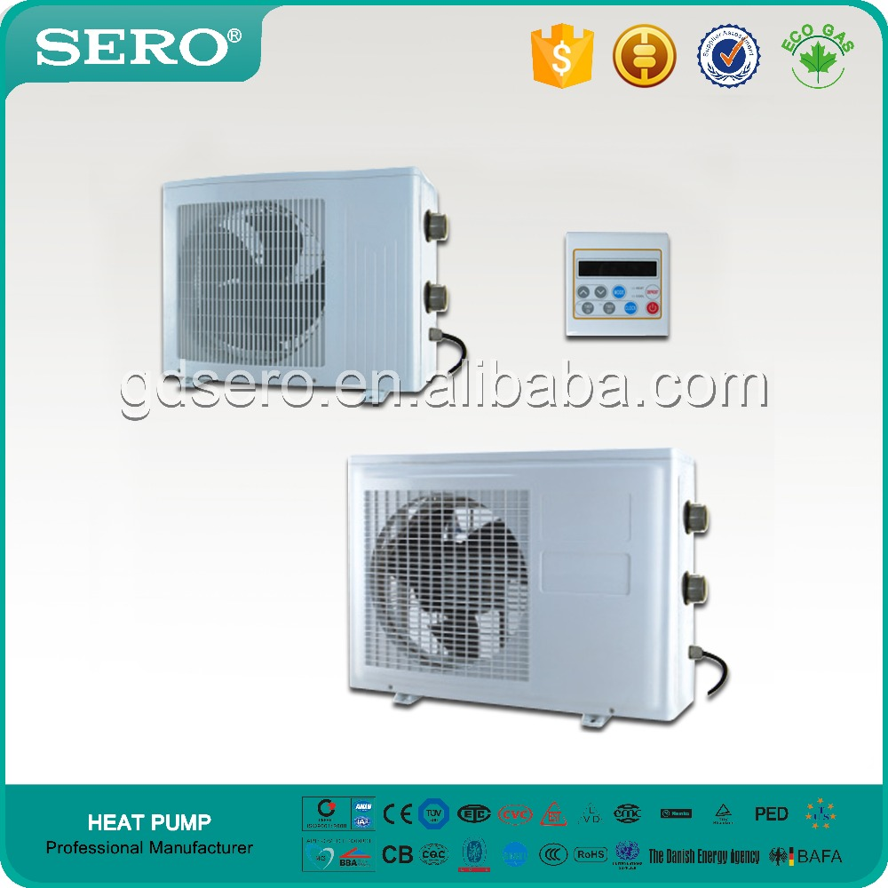 Swimming Pool Heaters Product : Durable swimming pool heater plastic shell heat pump