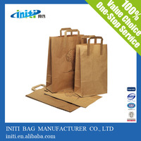 Promotional Custom Raw Material Paper Bags for Bread