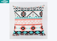 Ethnic style printing pillow cover magic cushion motorcycle seat cushion